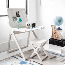 design office desk. Rafa Kids\u0027 K-shaped Desk Hides A Second Surface Underneath Soft-close Lid Design Office C