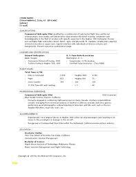 Pilot Resume Awesome Pilot Resume Template Luxury Microsoft Fice 40 Sample Resume