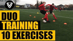 10 Duo Exercises | Football Training | Thomas Vlaminck - YouTube | Football  training, Soccer training drills, Soccer workouts