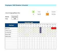 Shift Scheduling Excel Shift Schedule Excel Template Excel Schedules Editable Nurse