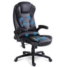 office furniture chairs. Exellent Office 8 Point PU Leather Reclining Massage Chair  Black And Office Furniture Chairs I