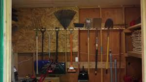 build a pair of garden tool racks