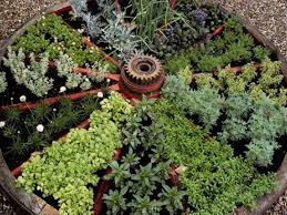 Small Picture How To Create A Small Vegetable Garden Using Spiral Best Gardens