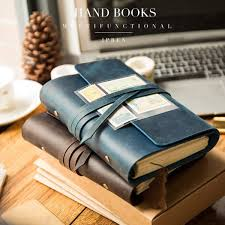 traveler s notebook travel journal diary handmade multifunctional vintage leather journal diary school notebook a6 a7 a5 malaysia