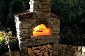 outdoor pizza oven kits backyard creative fireplaces with wood fired outdoor pizza oven plans