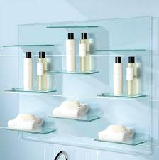 Glass Corner Shelves Uk glass shelf bathroom engemme 65