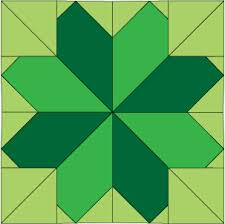 Lucky Clover - Free Ireland Quilt Block of the Month Pattern ... & Lucky Clover - Free Ireland Quilt Block of the Month Pattern ** Make this  one Adamdwight.com