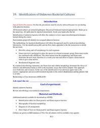 Updated Identification Of Unknown Bacteria By Myriam Feldman