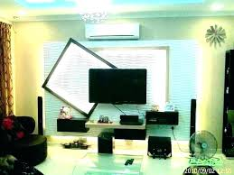 outdoor mounting ideas tv hanging corner installation living room