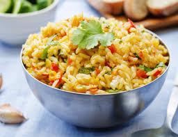 spanish rice.  Rice For Spanish Rice