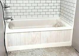 bathtub trim molding bathroom mirror