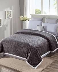 grey fleece sherpa blankets