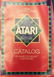 Tg Catalog Atari 5200 Yello80s