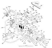 toro z master parts diagram tractor repair and service manuals 74219 z256 z master 72 sfs side discharge mower 2000 sn 200000001 200999999 as well