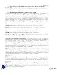 tows matrix strategic management lecture handout the document