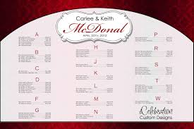 seating chart for wedding reception printable wedding seating chart template