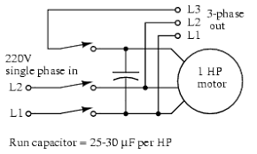 tesla polyphase induction motors ac motors electronics textbook running 3 phase motors on 1 phase