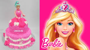 Barbie Cake How To Make Easy Youtube