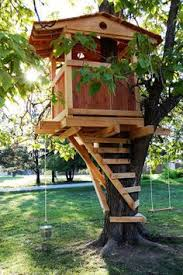 How To Make A Simple Treehouse Hope Grandma Can Make This My Treehouses For Children