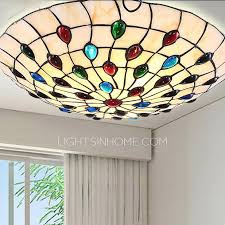 tiffany flush ceiling lights uk. tiffany flush mount ceiling light 11 8 inch diameter hardware lights uk s