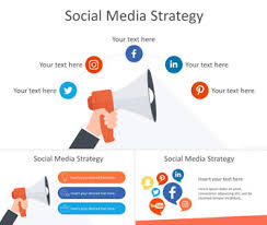 Social Media Strategy Powerpoint Template Templateswise Com