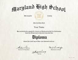 Fake High School Diploma 4
