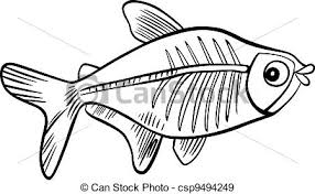 Small Picture X For X Ray Fish Coloring Page Coloring Coloring Pages