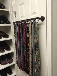fabulous ideas for wall mounted tie rack design best ideas about tie rack on tie storage tie