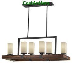 madera 6 light chandelier