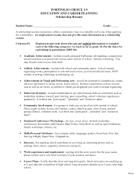College Scholarship Resume Template Best Of Academic Scholarship