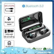 Tai Nghe Bluetooth 5.0 Amoi F9 Pro Không Dây Nút Cảm Ứng Kiêm Sạc Pin Dự  Phòng | F9 PRO thanhlam68 hhbt27 giảm tiếp 299,000đ