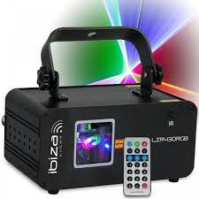 Ibiza Light Colour Scanning Laser Inc Remote Control