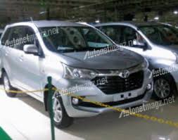 2015 Toyota Avanza (facelift) spied completely undisguised