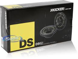 kicker 11ds60 6 ds series coaxial car speakers product kicker 11ds60