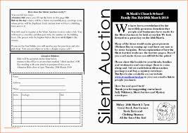 Auction Registration Form Template Silent Auction Bid Sheet Template Silent Auction Templates Free