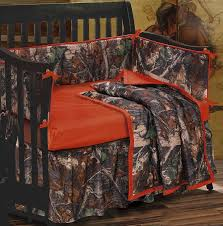 so you love camo baby bedding then you got to love this one this is a stylish camo baby bedding set used on a dark espresso baby crib to get a beautiful
