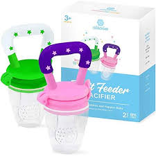 <b>Baby</b> Fruit Feeder <b>Pacifier</b> (2 Pack) | <b>Baby</b> fruit, Fresh food feeder ...