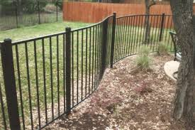 square metal fence post. The Austin Iron Fence Company\u0027s Security Builders Installs Our Western Style On 2\ Square Metal Post ,