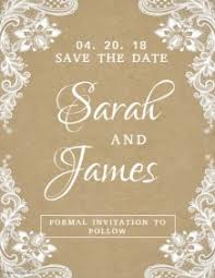 save the date template free download save the date templates for your wedding postermywall