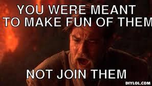 Obi Wan, The Chosen One Meme Generator - DIY LOL via Relatably.com