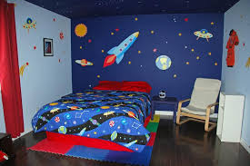 cool space themed bedroom