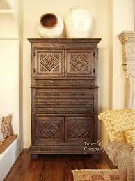 custom spanish style furniture. mediterranean style furniture carved armoire from taber u0026 company custom spanish