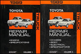 1989 toyota pickup truck wiring diagram manual original related products