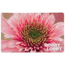 Pink Daisy Gift Card   Hobby Lobby
