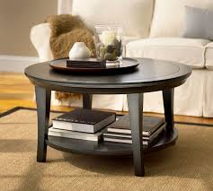 coffee table small round coffee tables round wood table with storage and books in its