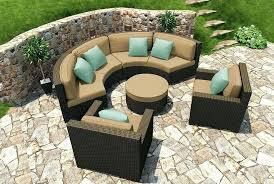 circular outdoor furniture circle patio furniture enjoyable design ideas semi circle patio furniture circular outdoor round