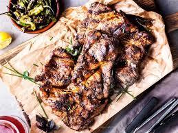 pork shoulder steaks grilled or pan