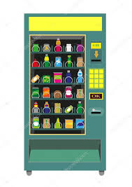Green Machine Vending Inspiration Green Vending Machine Isolated On White Background Editable Clip