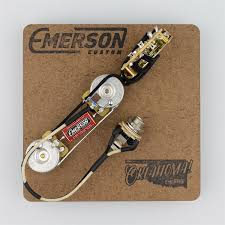 emerson custom 3 way telecaster prewired kit
