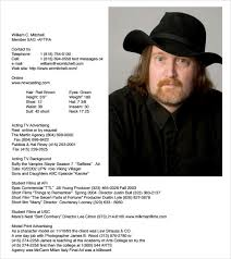 20 Useful Sample Acting Resume Templates To Download   Sample Templates
